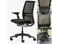 Steelcase think ergonomic task chairs bargain £125 each mint condition (25 in stock)