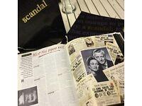 Scandal Magazine- complete set
