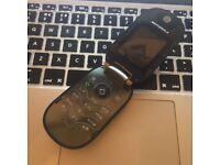 RARE Motorola U6 PEBL CLASSIC RETRO Unlocked Mobile SmartPhone in Black + Charger + Sim Card