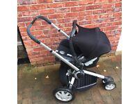 Quinny Buzz, Travel System, Pram/carrycot/car seat/isofix base