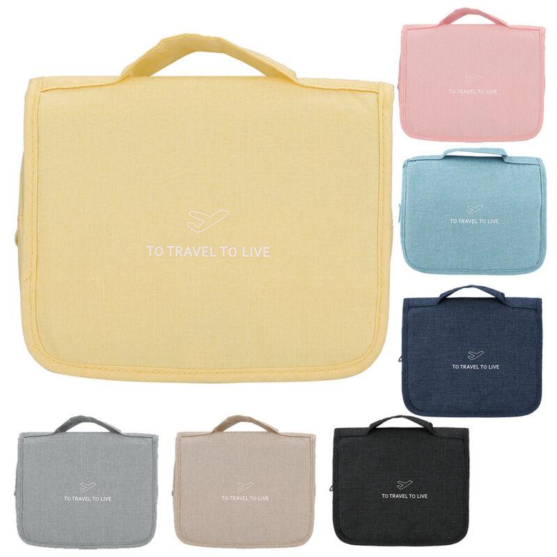 Hanging Toiletry Bag Large Kit Folding Makeup Organizer for