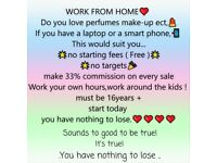 who wants to work from home !