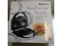 Beefburger maker