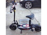 48 volt electric hyper scooter