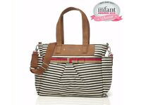 Babymel changing bag - Stripy