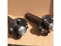 ADR stub axle and Atv wheel assemblies to fit