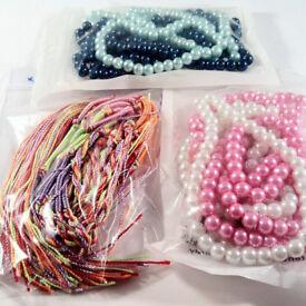 441 BRACELETS - bulk job lot, many HANDMADE - wholesale jewellery for ladies