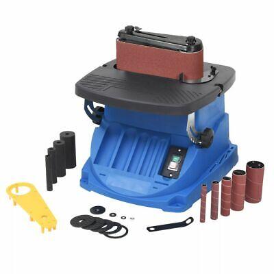 vidaXL Bandschleifmaschine Oszillierend 450W Blau