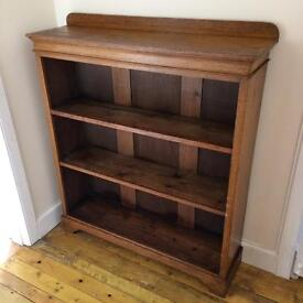 Solid oak bookcase **Reduced price**