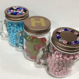 Party Favour Sweet Jars - Halal and Vegetarian