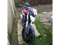 Yamaha mt abs 125