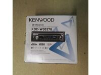 Kenwood Car Radio/CD- Receiver - KDC-W3037G - Excellent Condition - For Sale