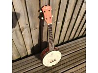 Hohner Countryman DUB 2 Concert sized Banjolele - like new