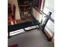 Gymano Elite press bench flat home gym