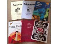 Guitar books x 10