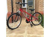 Apollo XC24 children's bike (red) (18 Gears)