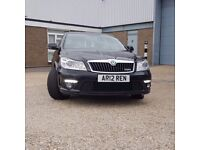 Skoda Octavia VRS 2.0 Diesel very clean inside and out. Full unmarked black leather interior.