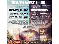 2 x SW4 festival weekend tickets
