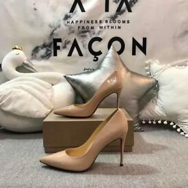 Christian Louboutin Nude pigalle So Kate 100 or 120mm heel