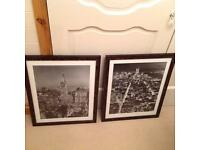Set of two New York pictures