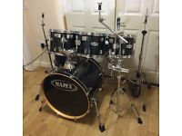 Fully Refurbished Black Mapex M Series 6 Piece Drum Kit // Free Local Delivery