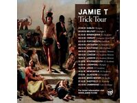 4x Jamie T standing tickets, Thursday 20th October, O2 Manchester Apollo