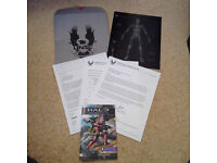 Halo Legendary Crate UNSC Data Drop Documents and req code Loot Crate Exclusive