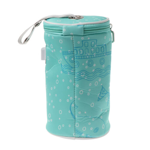 USB Bottle Heater Insulated Bag Cup Portable Milk Thermostat