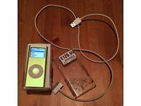 iPod 2nd gen 4GB green