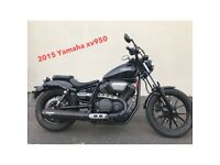 YAMAHA XV950 LOW RIDER MINT BIKE LOW MILAGE MUST BE SEEN -FINANCE AVAILABLE £5299 AT KICKSTART