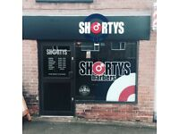 EXPERIENCED BARBER WANTED * SHORTYS BARBERS MARKFIELD