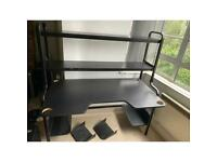 IKEA Fredde Desk Black