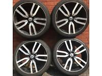 22 inch alloy wheels & tyres Land Rover Discovery Range Rover Sport Vogue alloys rims 285 35