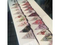Luxury Personalised Bunting with your own Message and Photographs