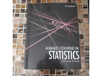 A Basic Course in Statistics 5th Edition (Hodder Arnold Publication)