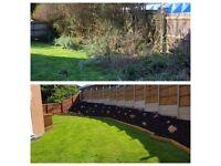 Garden service, Hedge & Grass cutting/trimming , fencing , turfing , weeding , gardener