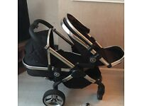 **reduced for quick sale**Icandy peach double black magic