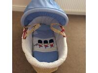 Night night soldier Moses basket