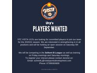 YFC VISTA U13's trial/open session