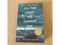 """""""All the light we cannot see"""" book"""