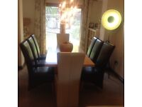 Dining table and chairs. GREAT CONDITION!