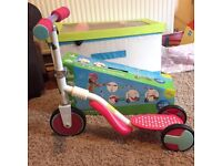 ELC 2 in 1 trike to scooter - immaculate condition