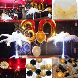 Party birthday decorations