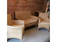 Rattan Marks and Spencer Conservatory/ Garden Suite