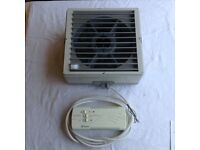 Ventaxia 9 inch extractor fan in square housing