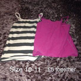 Mixed clothing items