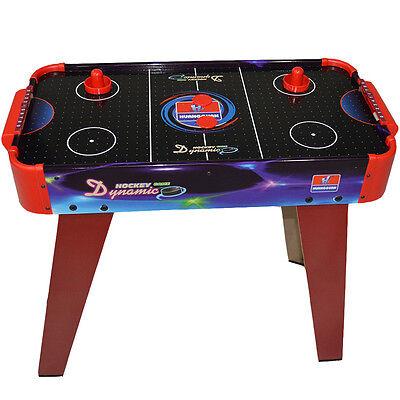 Indoor Air Hockey Table Kids Indoor Gaming Games Arcade Activity Sports Fun Play