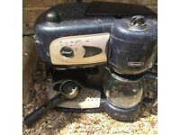 DeLonghi Espresso/Filter coffee machine - spares or repair
