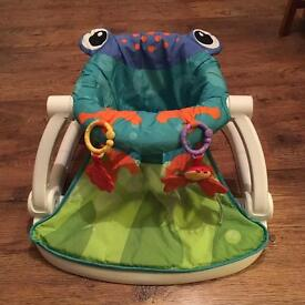 Fisher price frog sit up chair