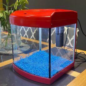 Fish Tank / Aquarium with mains Light & Filter